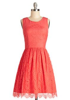 Roll In with the Punch Dress, #ModCloth