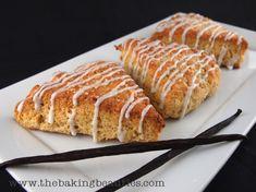 Gluten-free Vanilla Scones #GF