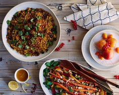 Recipes From Our Moroccan Dinner Party We whipped up a pair of tasty side dishes, Spiced... | Anthropologie | Bloglovin'