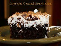 Michelle's Tasty Creations: Chocolate Caramel Crunch Cake