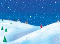 Footprints in the Snow - A simple yet stunning design featuring Santa climbing a hillside on a snowy night with his sack on his back. Your personalisationd details are printed directly onto the inside of his deisgn Gloss Finish. Corporate Christmas Cards, Charity Christmas Cards, Personalised Christmas Cards, Xmas Cards, Greeting Cards, Photo Upload, Footprints, Climbing, Santa