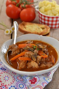 Beef Tip Recipes, Roast Beef Recipes, Cooker Recipes, Beef Tips, Stroganoff Recipe, Beef Stroganoff, Vegan Junk Food, Quiche Recipes, Cooking