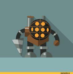 crivil-Big-Daddy-BioShock-Игры-3331156.gif (512×512)