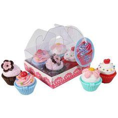 Sugar & Spice Lipgloss BOX set of 4 FAIRY CAKE