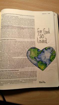 John 3:16 for god so loved