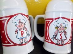 These are the campbells kids 1990 salt and pepper shakers