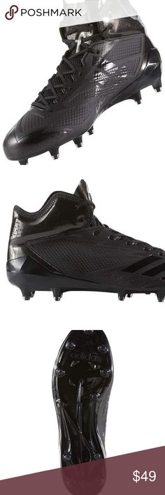 best sneakers 8d470 766d8 Adidas adizero 5-Star 6.0 Mid Cleats Leave your opponents looking like  statues. Built. Mens Football ...