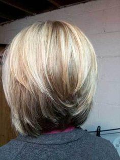 15 Beautiful Layered Short Haircuts: #3. Layered Bob Haircut; #layers; #bobcut; #bobhairstyle; #bobhaircuts