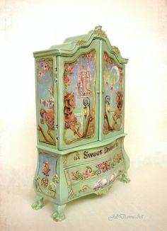 Cinderella Sweet Dreams or Finding Fairies Baby by JillDianneArt