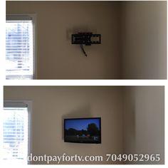 TAGS... #tvmounting #tvinstallation #hometheater #tvwallmount #hangtvonthewall #homeremodeling #interiordecorating #tvstand #tvoverthefireplace #tvmount #handyman #surroundsound #homewiring #networking #cat5 #officewiring #wallfish #hdmicable #inwallwiring #prewire #commercial #charlotte #professional #technician #installer #data #phone #cable #electrician #wiring #ethernet #projector #screen #flatscreen #freetvmounts #speaker #installation #bose #audio 704-905-2965…