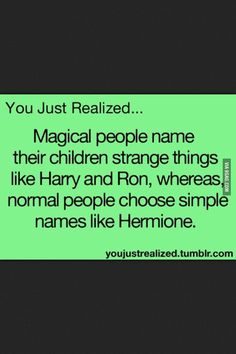 Harry Potter and Ron Weasley lol