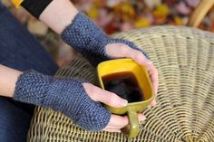 Tea Dyed Hand Warmers $16 on The Lotus Odyssey.com!