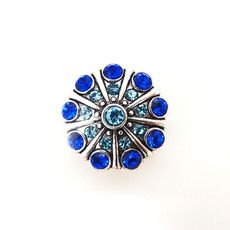 BLUE CARIBE SNAP JEWEL $6.95 http://www.sparklyexpressions.com/#1019
