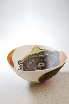 Shannon Garson, Anemone Rockpool Bowl, 2012 | Flickr - Photo Sharing!  ,,,,,,,,,,,,,,,check out the website.  She has so many interesting & pretty things in her flikr album--jj