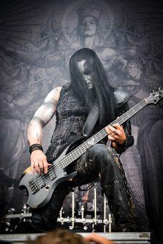 """Tomasz """"Orion"""" Wróblewski of Behemoth."""