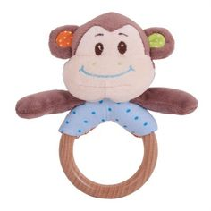 Bigjigs Toys Cheeky Monkey Ring Rattle by Bigjigs Toys Cot Toys, Pram Toys, Baby Toys, Baby Shark Song, Baby Alive Dolls, Baby Driver, Usa Baby, Baby Horses, Buy Buy Baby