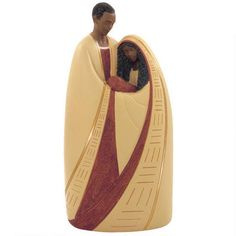 African American Holy Family In Tan
