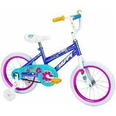 Huffy Girls Sparkle So Sweet Bike (Purple, Medium/16-Inch) by Huffy, http://www.amazon.com/dp/B006LPG6KG/ref=cm_sw_r_pi_dp_QpSMrb14BC72G