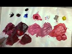 Color Mixing - Shading and Highlighting - YouTube
