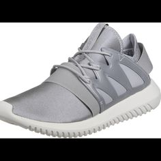 factory authentic 2a2ed 4a6f5 adidas Shoes   Silvergrey Adidas Tubular Viral Sneakers!   Color   Gray Silver   Size  9