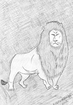 Trabalho em lápis 2016 Leão