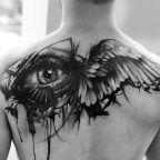 Winged eye by Kurt Staudinger