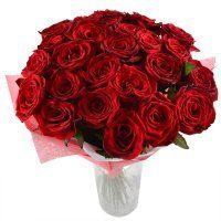 Огонь страсти 25 роз