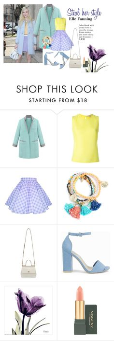 """Steal Her Style"" by ayuhariyani on Polyvore featuring Miu Miu, Emilio Pucci, Dolce&Gabbana, Nly Shoes and MAC Cosmetics"