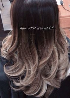 brown to ash blonde ombre - Google Search