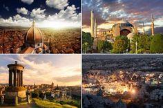 Avrupalıların  en  merak ettiği  şehirler