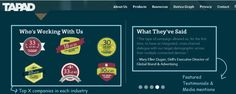 Example 4 – Tapad - Home Page