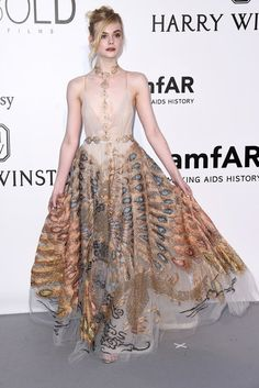 Elle Fanning in Valentino Haute Couture