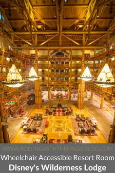Accessible Room at Disney's Wilderness Lodge - Rolling with the Magic