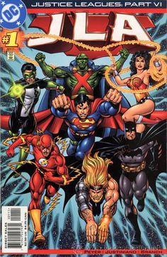 JUSTICE LEAGUES: JLA #1, ONE SHOT, DC COMICS, 2.001, USA