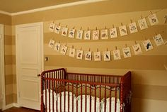 Baird's Cream and Brown Striped Neutral Baby Nursery
