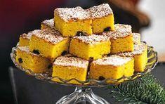 Saffranskaka i långpanna - via DN Christmas Sweets, Christmas Baking, Xmas, Christmas Time, Christmas Ideas, Baking Recipes, Cake Recipes, Pan Dulce, Swedish Recipes