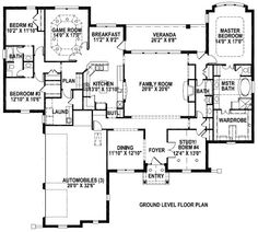house plan 141-269 3236 sq ft one story