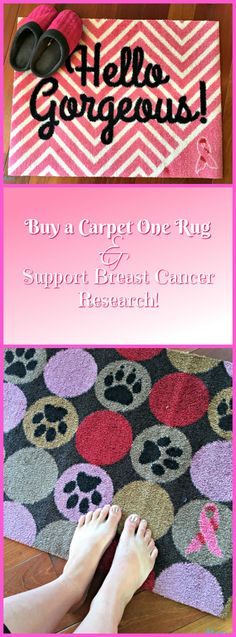 #Win Carpet One Rugs to Support Breast Cancer Open to US Only, ends 10/17 -