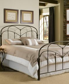 tamara hazelnut full metal bed bedroom furniture furniture macys