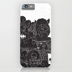 MONSTERS iPhone & iPod Case by Matthew Taylor Wilson | Society6