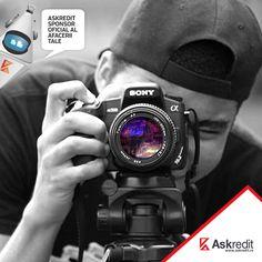 Vrei sa iti urmezi pasiunea de fotograf si sa iti deschizi o mica afacere, dar nu ai capital suficient pentru inceput ? Askredit iti da o mana de ajutor cu un imprumut pana la 10.000 ron pe maxim 12 luni. Suna la 0319636 sau intra pe www.askredit.ro #askredit #creditonline #creditrapid #askredit.ro #imprumutrapid