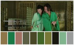 Hero Directed by Zhang Yimou ; Cinematography by Christopher Doyle Maggie Cheung, Jet Li, Cinematography, Pop Culture, Hero, Conan, Official Trailer, Link, Green