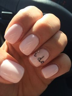 Wedding Nails. I do. Kiss the Bride by O.P.I. Polished Nails Las Vegas!...