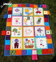 ~DÍLNA jamala~: června 2014 Picnic Blanket, Outdoor Blanket, Baby Quilts, Kids Rugs, Sewing, Children, Home Decor, Art, Scrappy Quilts