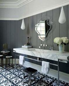 Epic Art Deco Bathroom Ideas on Home Decoration For Interior Design Styles with Art Deco Bathroom ...
