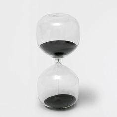 Billede af produktet: Sort timeglas