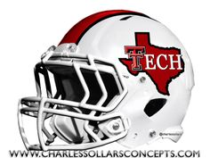 Charles Sollars Concepts @Charles Sollars http://www.charlessollarsconcepts.com/texas-tech-red-raiders-helmet-concepts/ #texastech #redraiders #big12 #bigXII