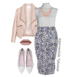 What to Wear Wednesday Plus Size Interview Outfits, Plus Size Outfits, Plus Size Fashion Blog, Curvy Fashion, Fashion 2016, Casual Work Outfits, Work Attire, Garner Style, Career Wear