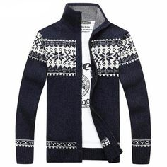 heymoney Mens Casual Solid Soft Knitted Long Sleeve Crewneck Sweater Top