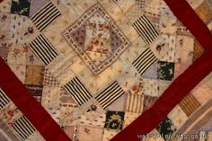 Early C19th pieced patchwork childs quilt Q87 - Baby quilts Hand sewn Welsh Quilts